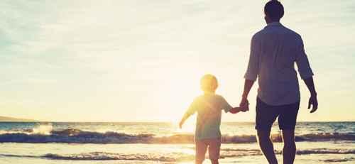 Η σημαντική σχέση μπαμπά και γιου.
