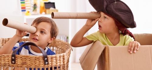 Σπίτι με το παιδί: παίζουμε «παιχνίδι ρόλων»